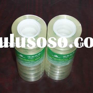 Clear stationary adhesive tape
