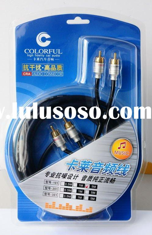 Colorful Car Audio Cable