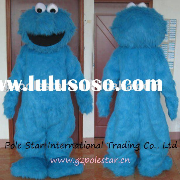 Cookie Monster Mascot Costume