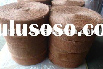 Copper wool filter