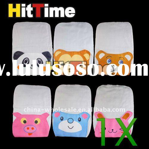 Cute Cartoon Style Baby Sweat Absorb Cloth Back Towel Wholesale