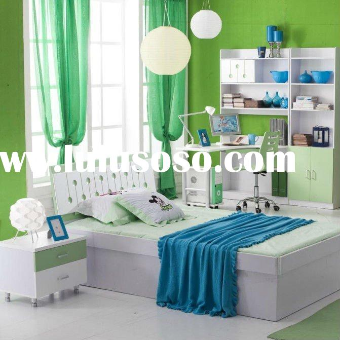 Cute and beautiful childrens bed room furniture children bed 2012 modern bedroom furniture