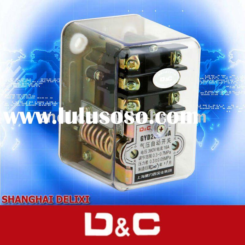 DELIXI YGD series air compressor pressure switch