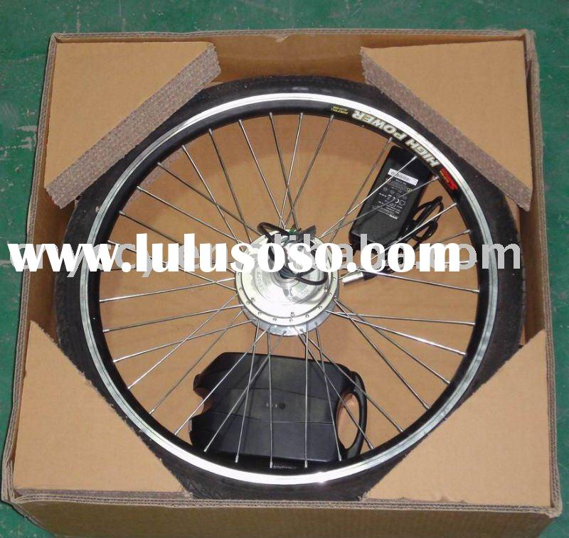DIY electric bike conversion kit with 36V lithium battery