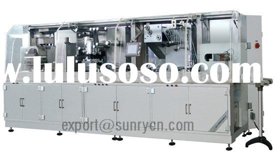 DPP250K High speed plate style Alu plastics Blister Packing Machinery