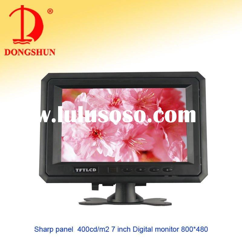 DS-7088 7 inch headrest mount monitor/400cd/m2/800*480