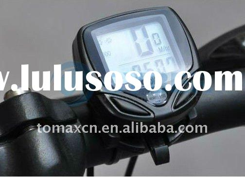 Digital LCD Cycle Computer Bicycle Speedometer 13 Functions Odometer Speed