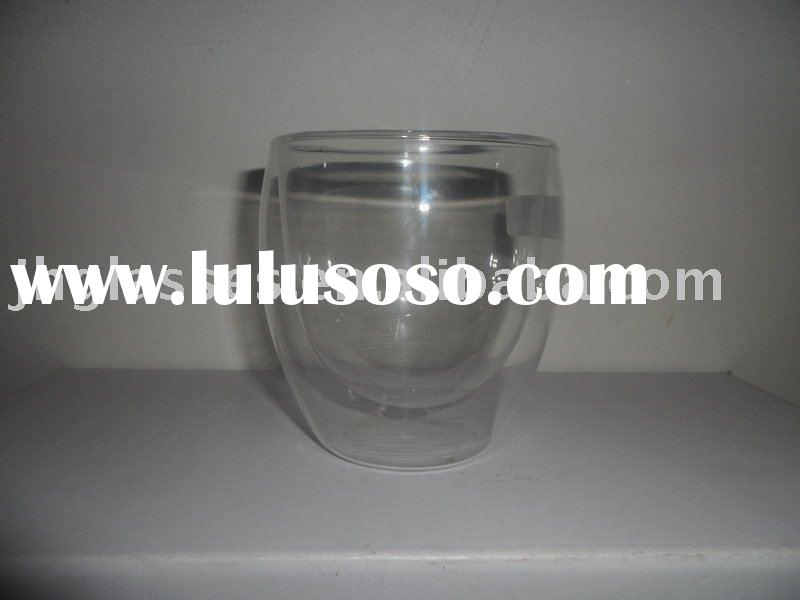 Double Walled Drinking Glass