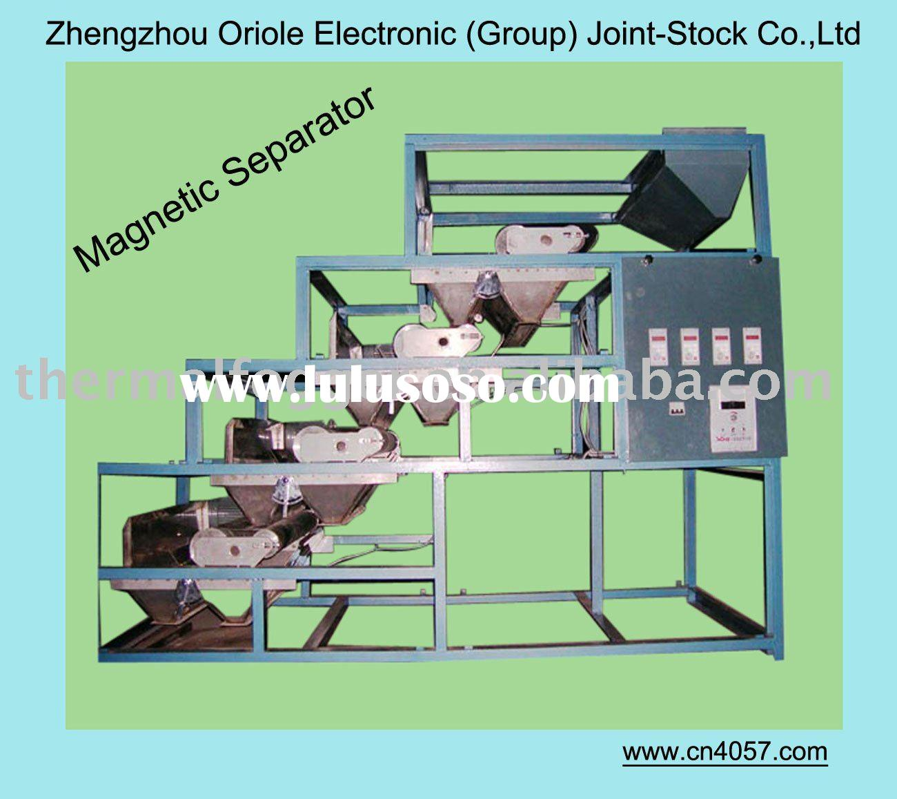 Dry magnetic concentrator