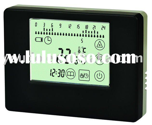 E8 wireless touch screen thermostat