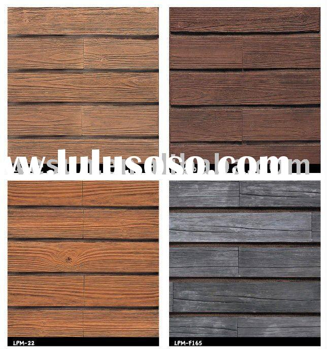Eco-friendly interior/exterior wood grain tile(artificial stone)-no radiation or formaldehyde
