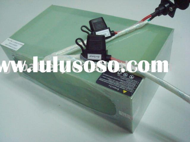Electric cars, motors LiFePO4 24V20ah battery pack