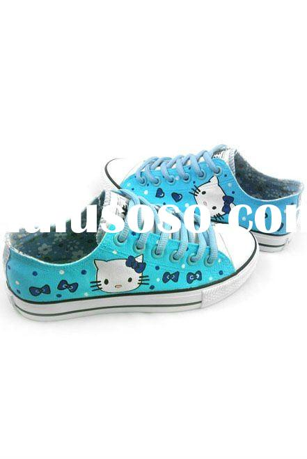 FF-DB-319 Low price Hello Kitty art shoes