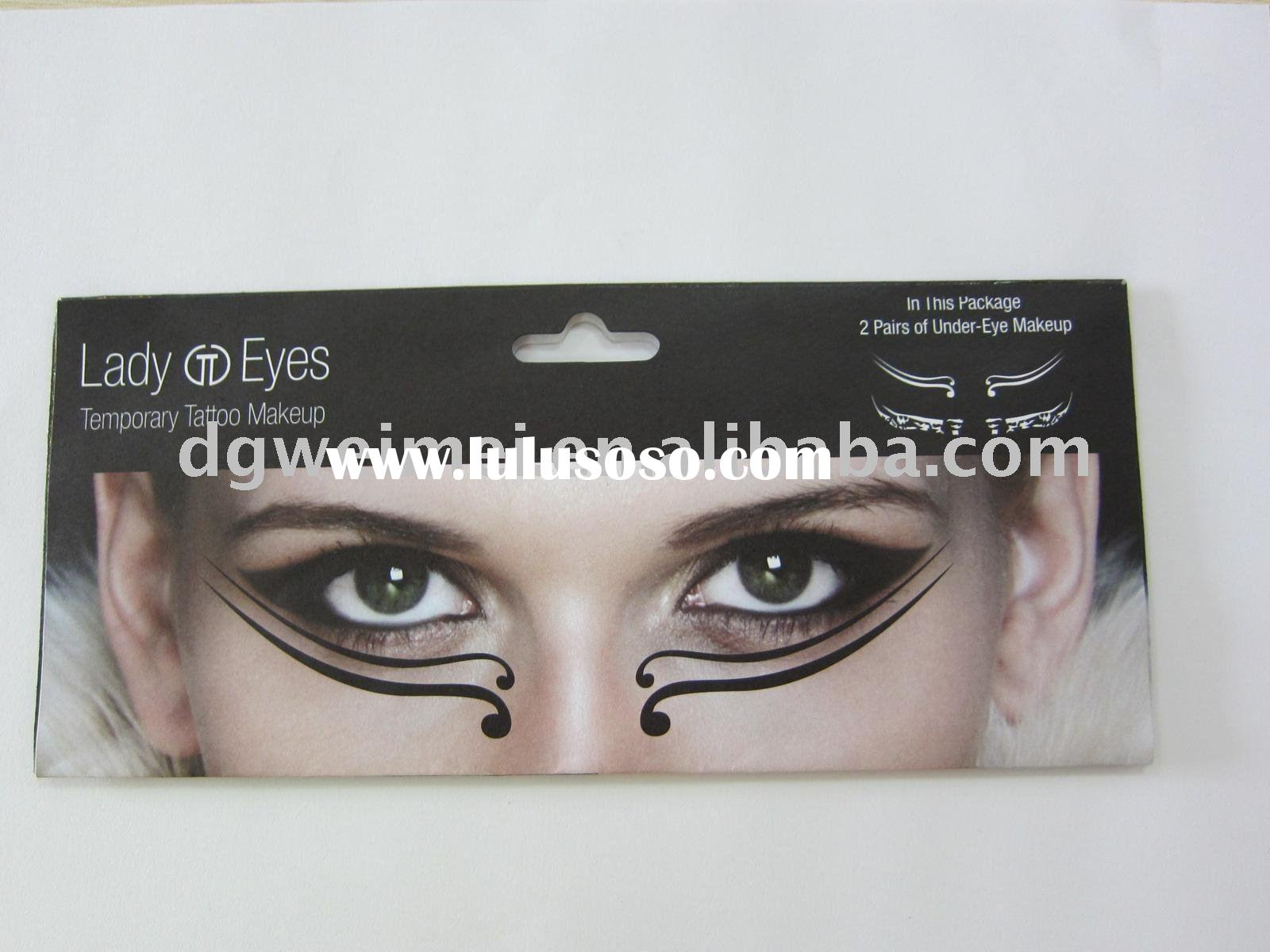Fashionable Eyes Temporary Tattoo