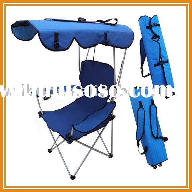 Folding Canopy Chair - Beach Camping Chair XL