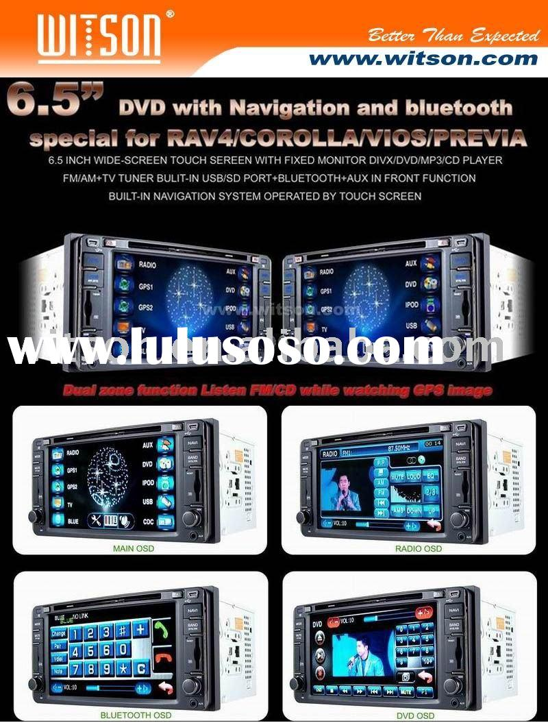 For TOYOTA RAV4 WITSON Special Car DVD Player For TOYOTA RAV4 with Built-in GPS