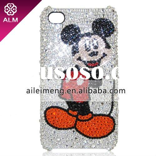 For iPhone 4 Mickey Mouse Case With Swarovski (4G-DMC4-1) Paypal