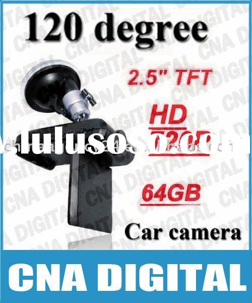 "Free shipping! New Car camera, 120 degree HD Portable DVR with 2.5"" TFT LCD Screen, wholesale"