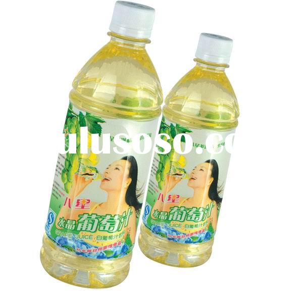 Fruit and Vegetable Juice in bottles and cans