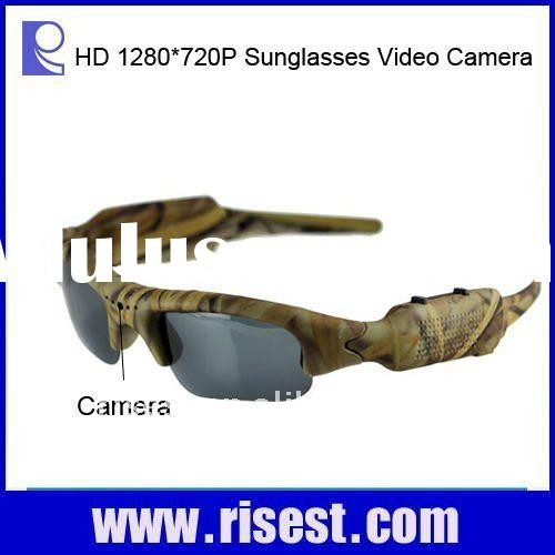 Full HD Hunting Video Sunglasses Camera Camouflage