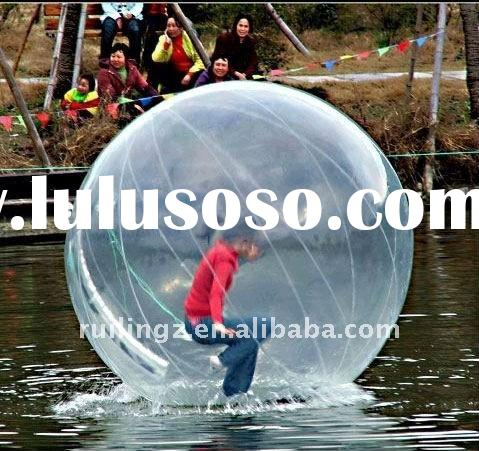 Full clear transparent inflatable water walking ball