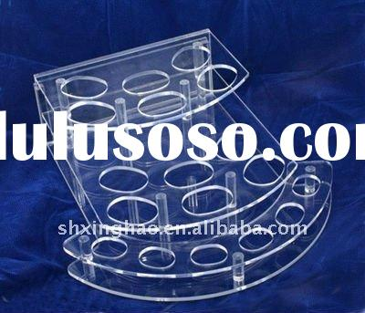 Functional Acrylic Cosmetic Display,Perspex Makeup Case