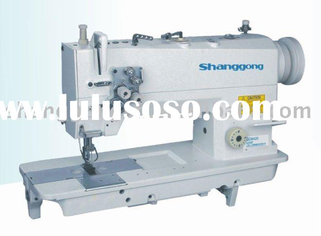 GD8420 Double Needle Heavy Duty Top and Bottom Feed Lockstitch Sewing Machine