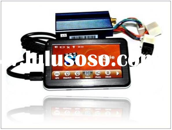 GPS/GPRS/SMS vehicle tracker + GPS navigator all in one