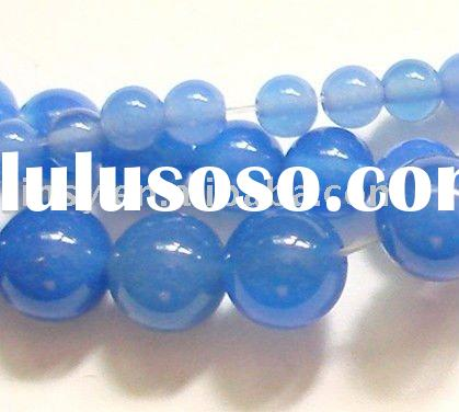 Gemstone Blue Onyx Beads