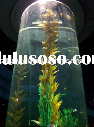 Giant Cylinder Acrylic Aquarium with Various Specifications