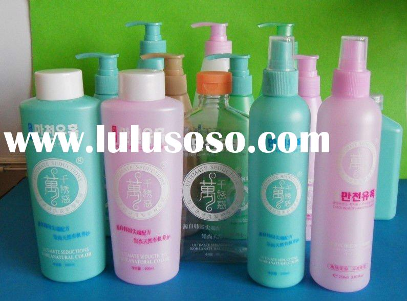 HDPE PET Plastic Bottle for Shampoo and Hair Conditioner