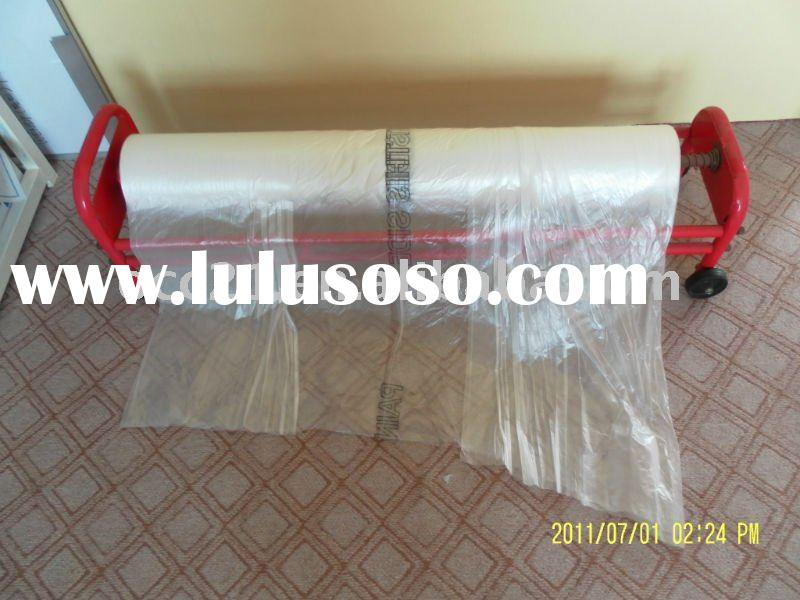 HDPE auto paint masking film with dispenser