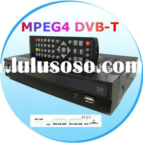 HD DVB-T set top box receiver