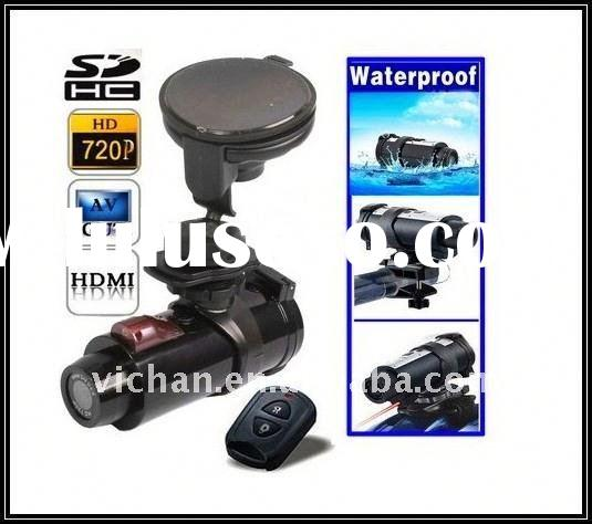 HD Remote control camera mount for motorcycle