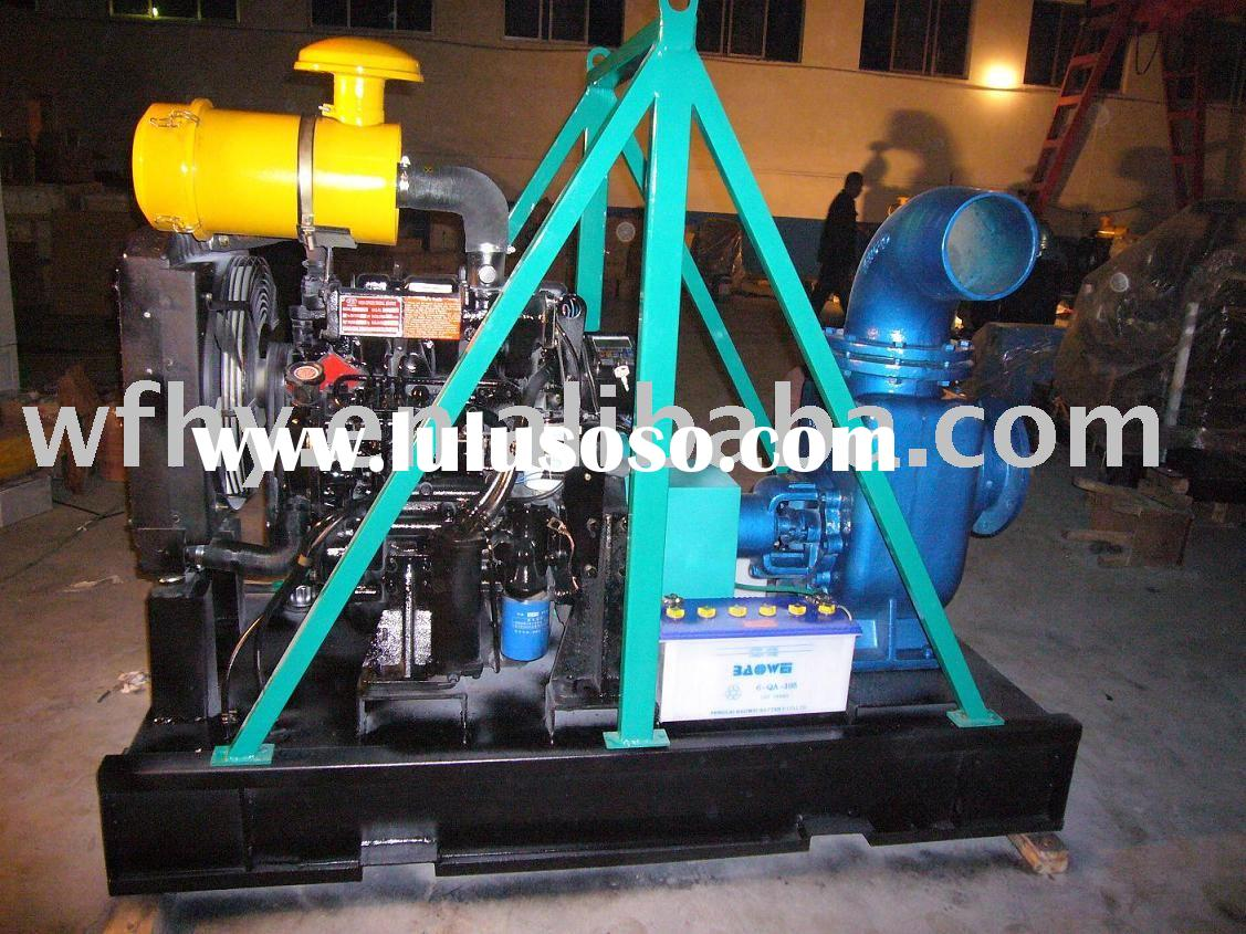 HOT!Diesel Engine Pump For Irrigation With base tank