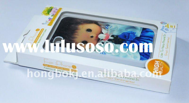 HOT SALES !!!! Beautiful FOR kids PC case exclusive for iphone4