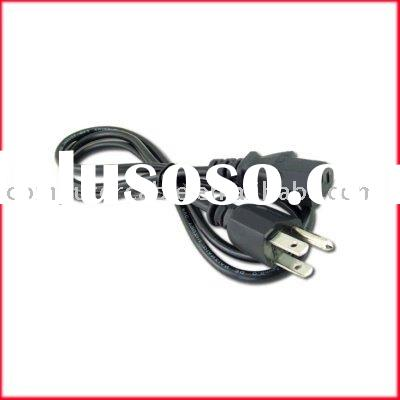 HP DESKTOP PC COMPUTER CABLE POWER CORD NEW 3 Prong Pin