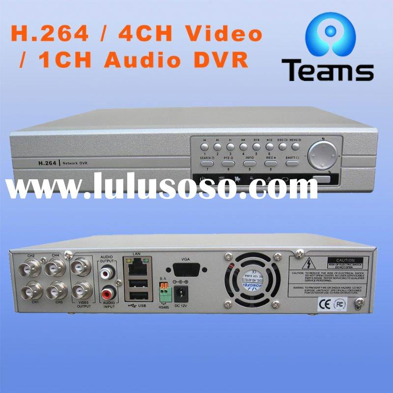 H.264 8CH stand alone DVR support D1,one SATA HDD,IR,PTZ remote control