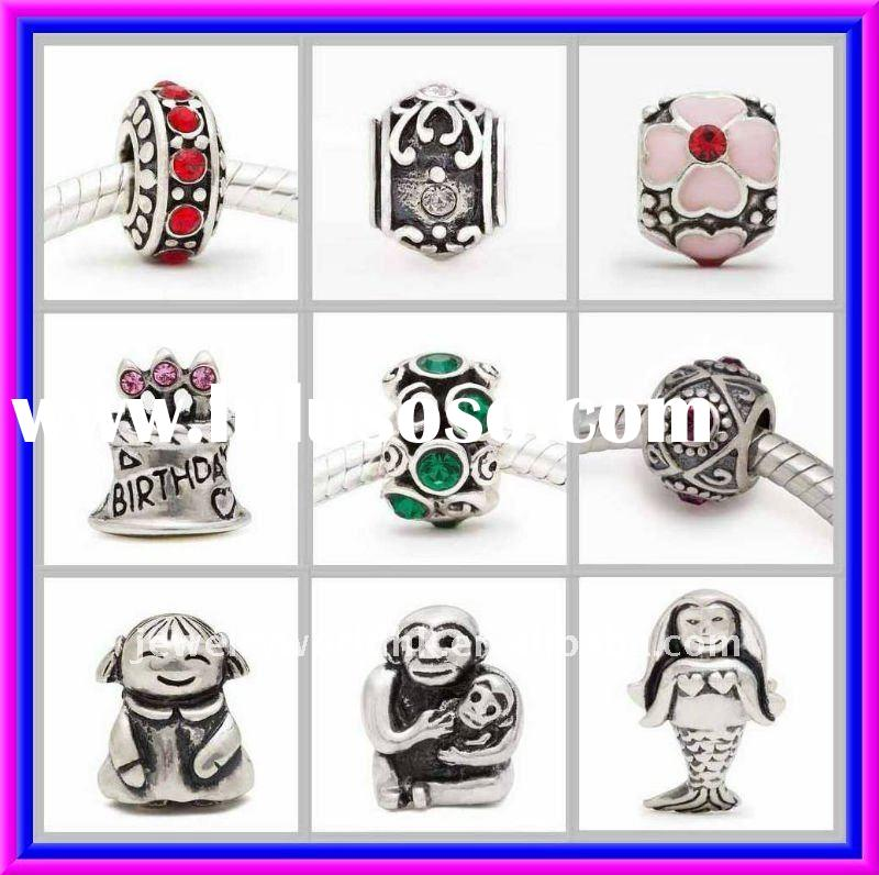 Handmade Authentic 925 Sterling Silver beads charms