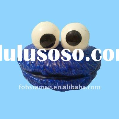 Handmade cookie monster cookie jar