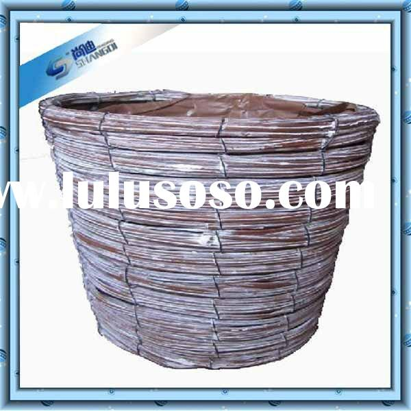 Handmade home decorative outdoor plastic flower pots