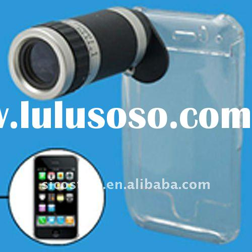 Handy Portable Good Quality 6X to 18X Optical Zoom Camera Lens for i-Phone 4 Cellphone Lens