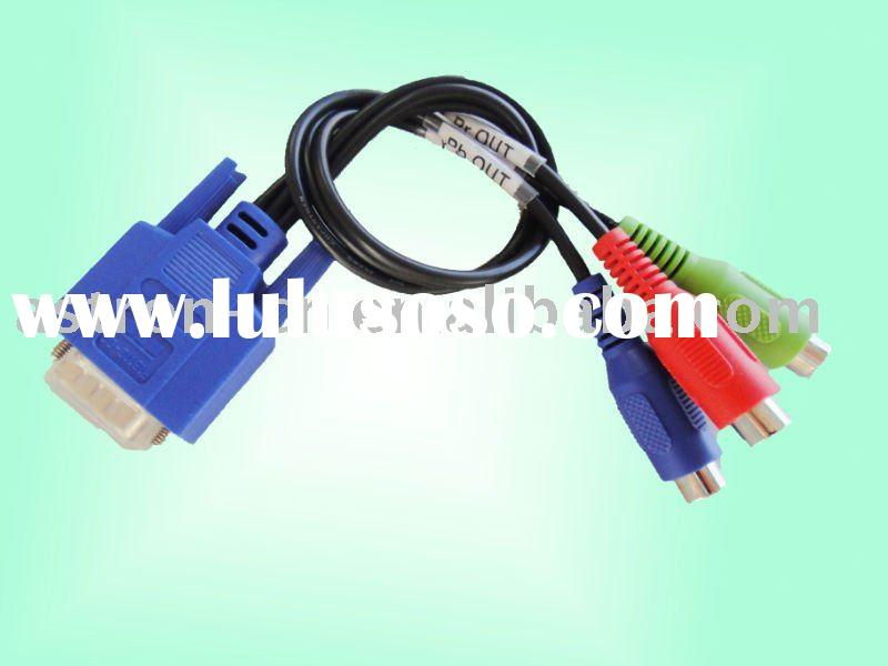 High quality 1Ft. VGA RCA Cable