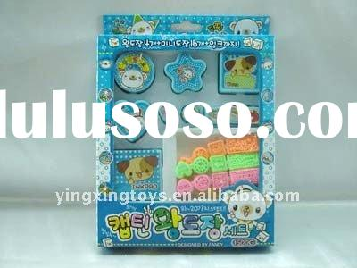 Hot sale new stationery set for kids toy stamp