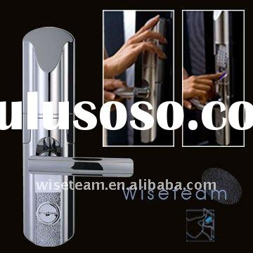 Hot selling!!! Fingerprint Lock with LCD display and keypad for residential and commercial use