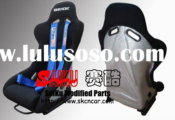 ITEM MI-03]FLASH SILIVER FRP RACING SEAT