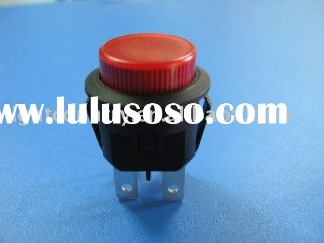 Illuminated Round Momentary Push Button Switch
