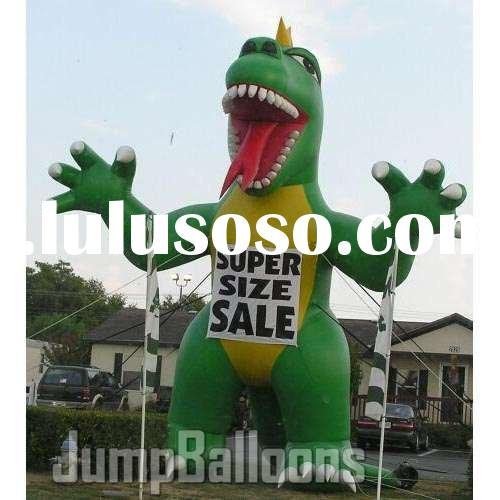 Inflatable Dinosaur, Advertising Inflatables, Giant Balloons, Eye Catcher, Cold Air Balloons (B3016)