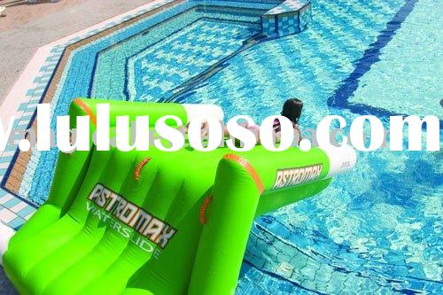 Inflatable water slides for swimming pool