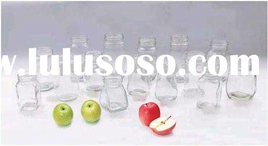Juice bottle,Oil glass bottles and jars,Candle holder,glass jam jar etc.